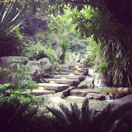 secret garden in central