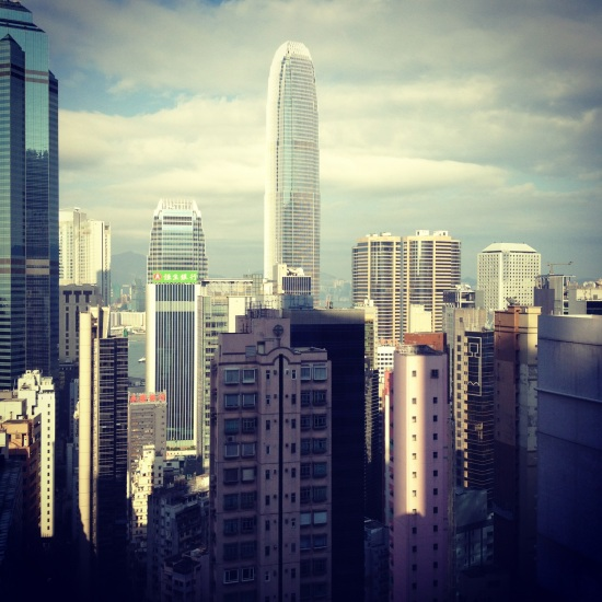 hk city scape