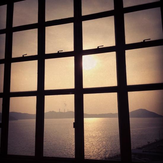 sunset hk