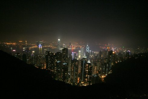 HK night view