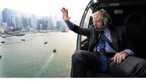 Boris in HK