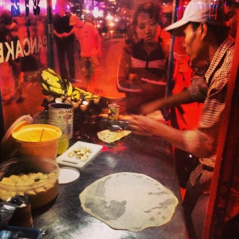 pancake stall